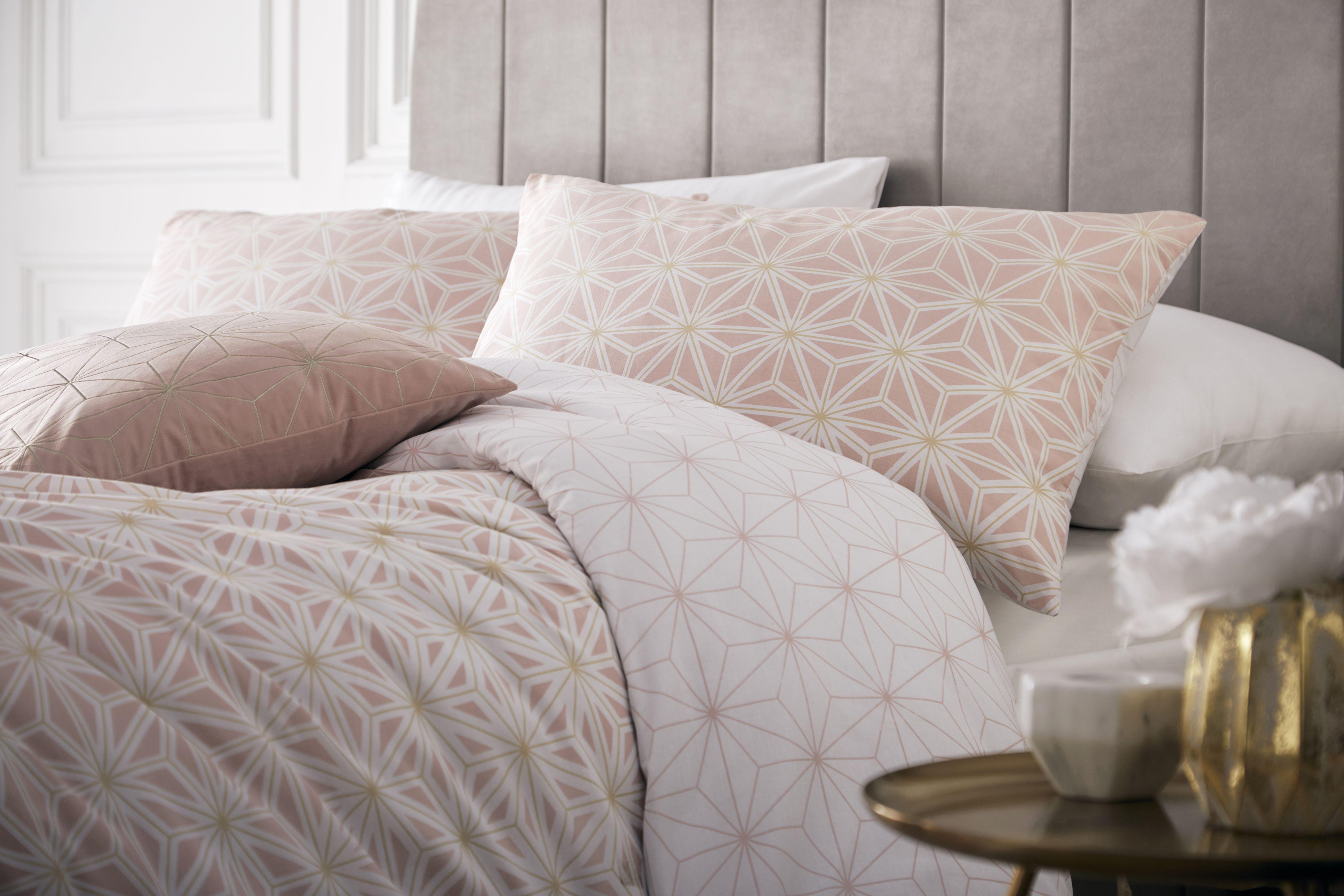 Tessellate Duvet Set Bls/Gld