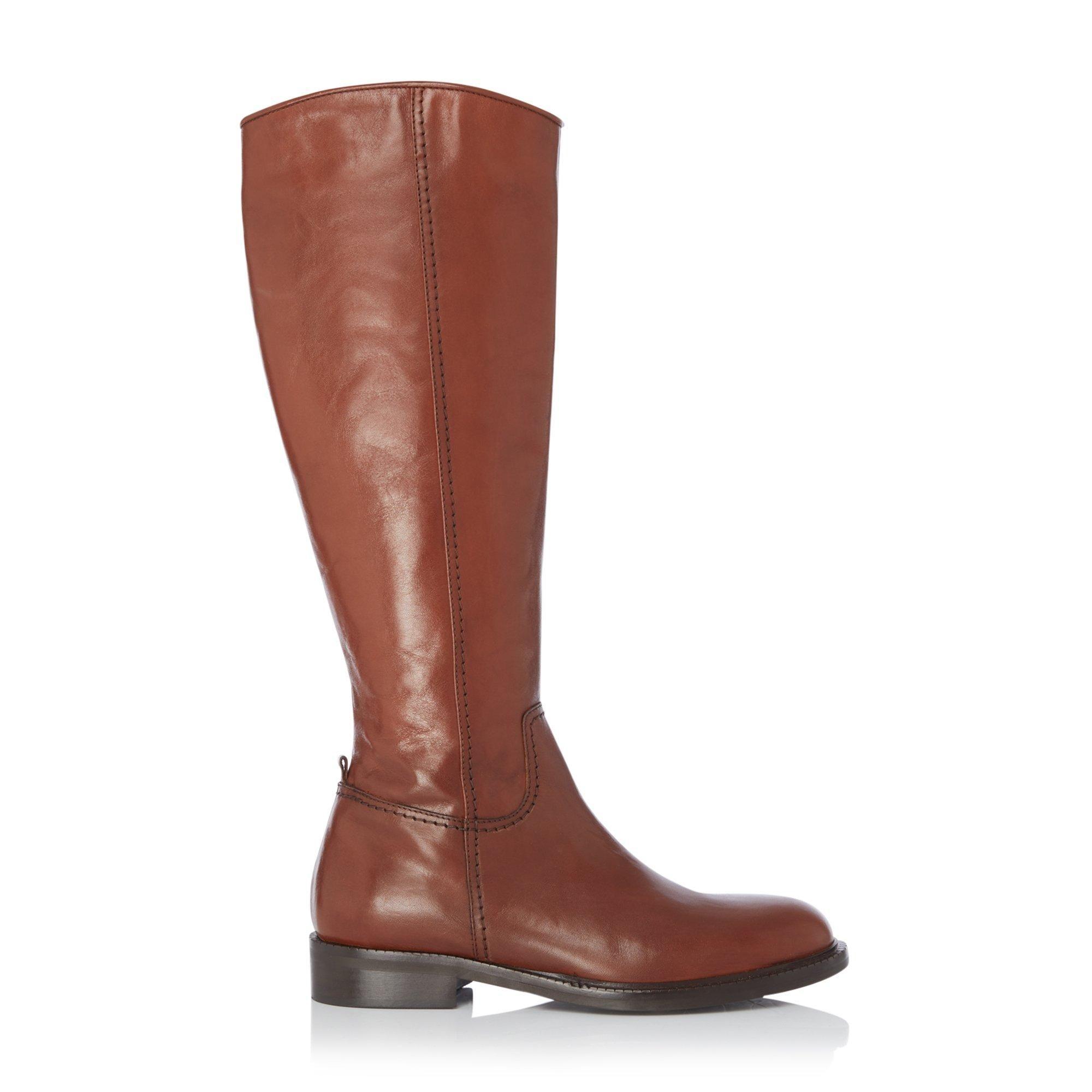 Dune Ladies TILLSIE Knee High Zip Up Riding Boots