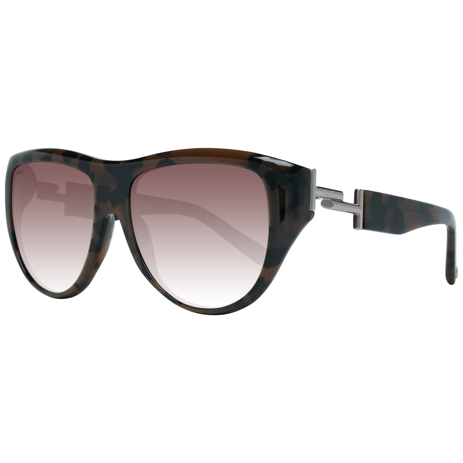 Tods Sunglasses TO0226 56F 56 Women Brown