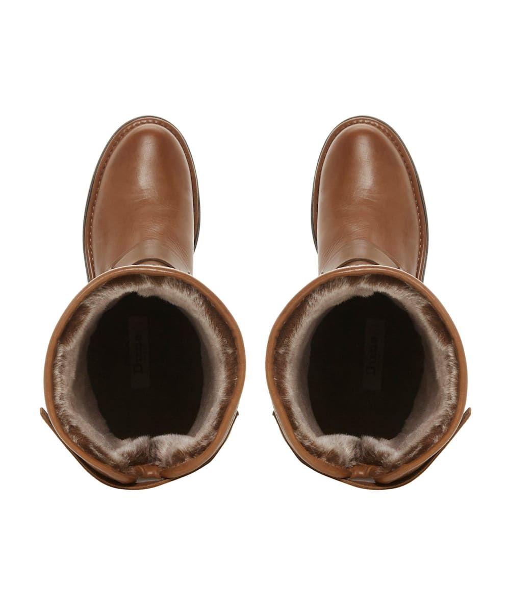 Dune Ladies TORLIE Ruched Knee High Boots