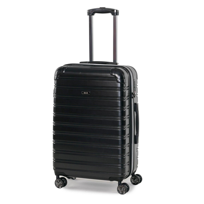 Rock Chicago 68cm Hardshell Medium Suitcase Black