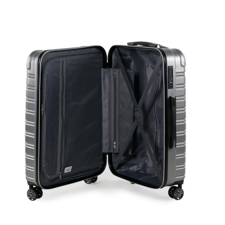 Rock Chicago 78cm Hardshell Large Suitcase Black