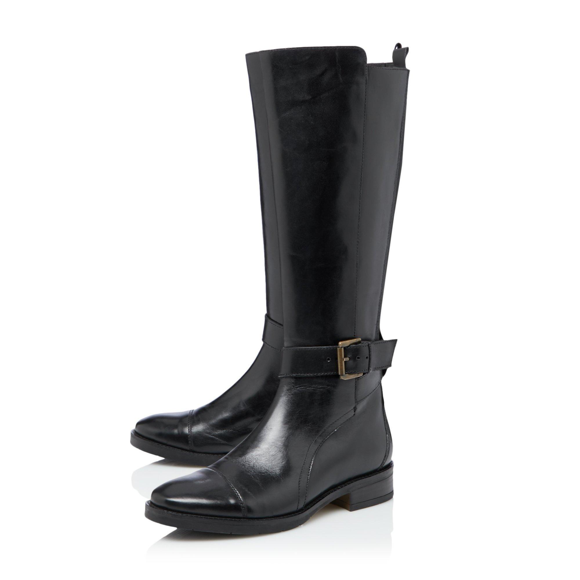 Bertie Ladies TUSK  Knee High Zip Up Boots