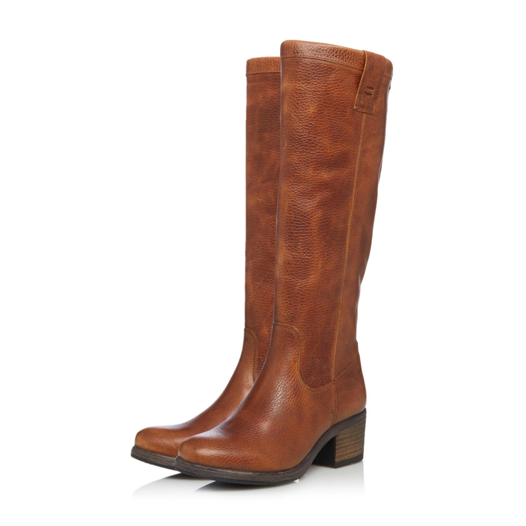 Bertie Ladies TYRUS Soft Leather Knee High Boots