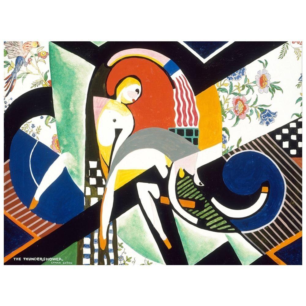 Canvas Print - The Thundershower - Henry Lyman Sayen - CM 60x80