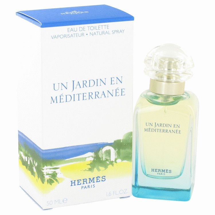 Un Jardin En Mediterranee Eau De Toilette Spray By Hermes 50 ml