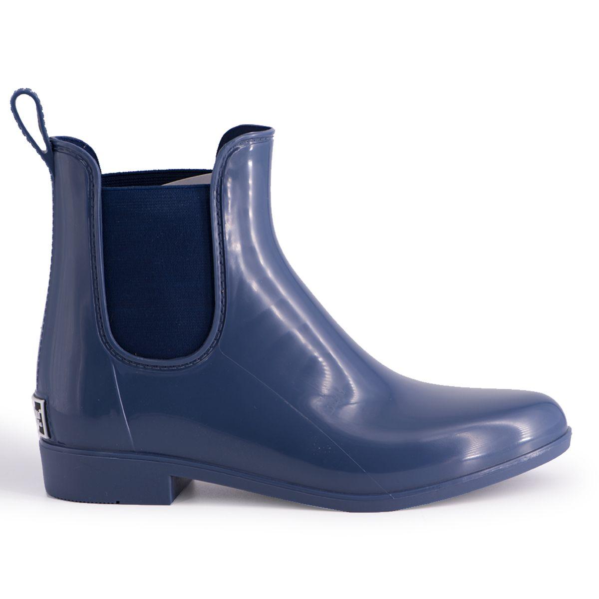 Aus Wooli Australia Womens Rainboots With Sheepskin Insole Included NAVY