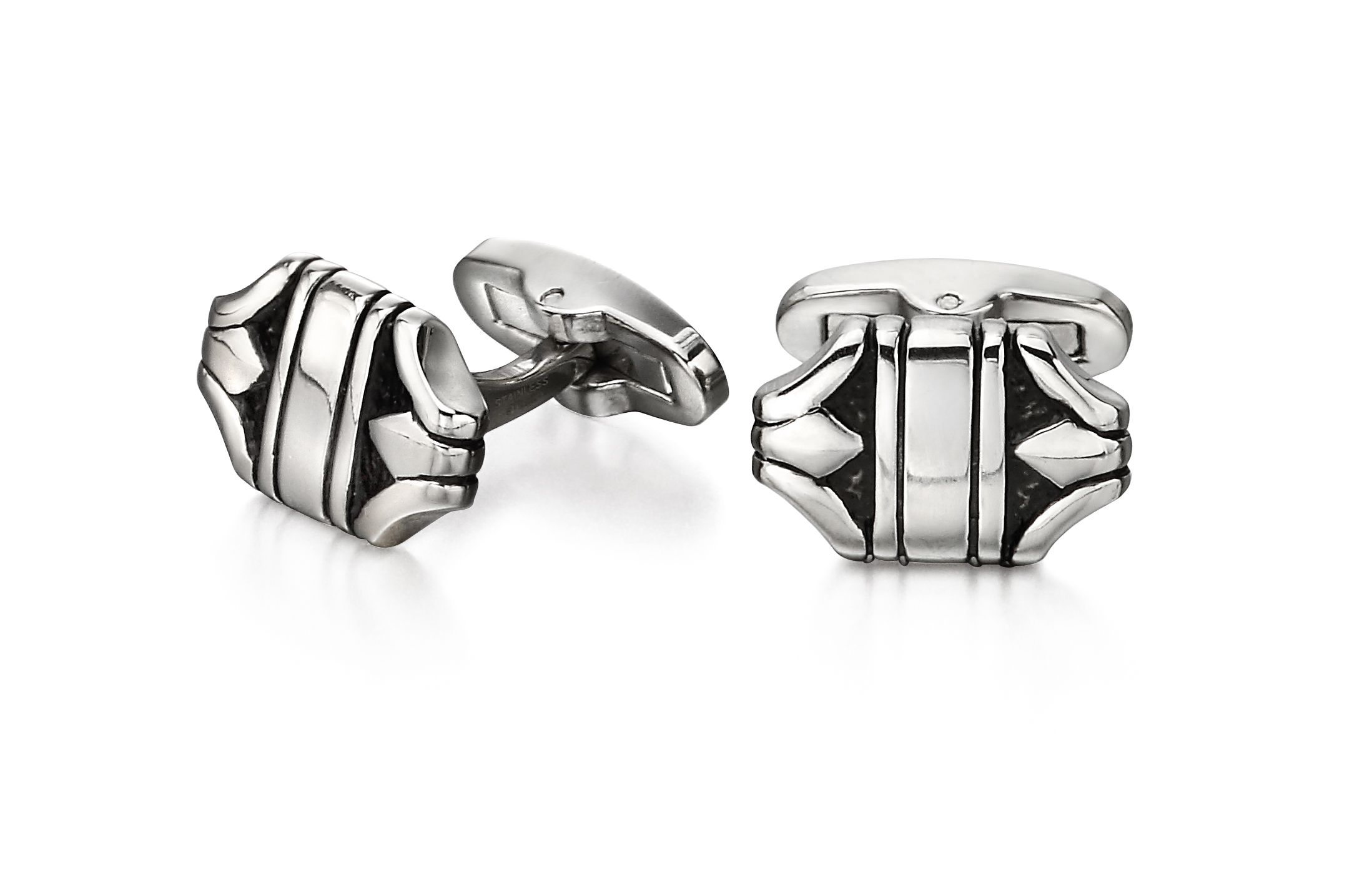 Fred Bennett Men Silver Cufflinks V527