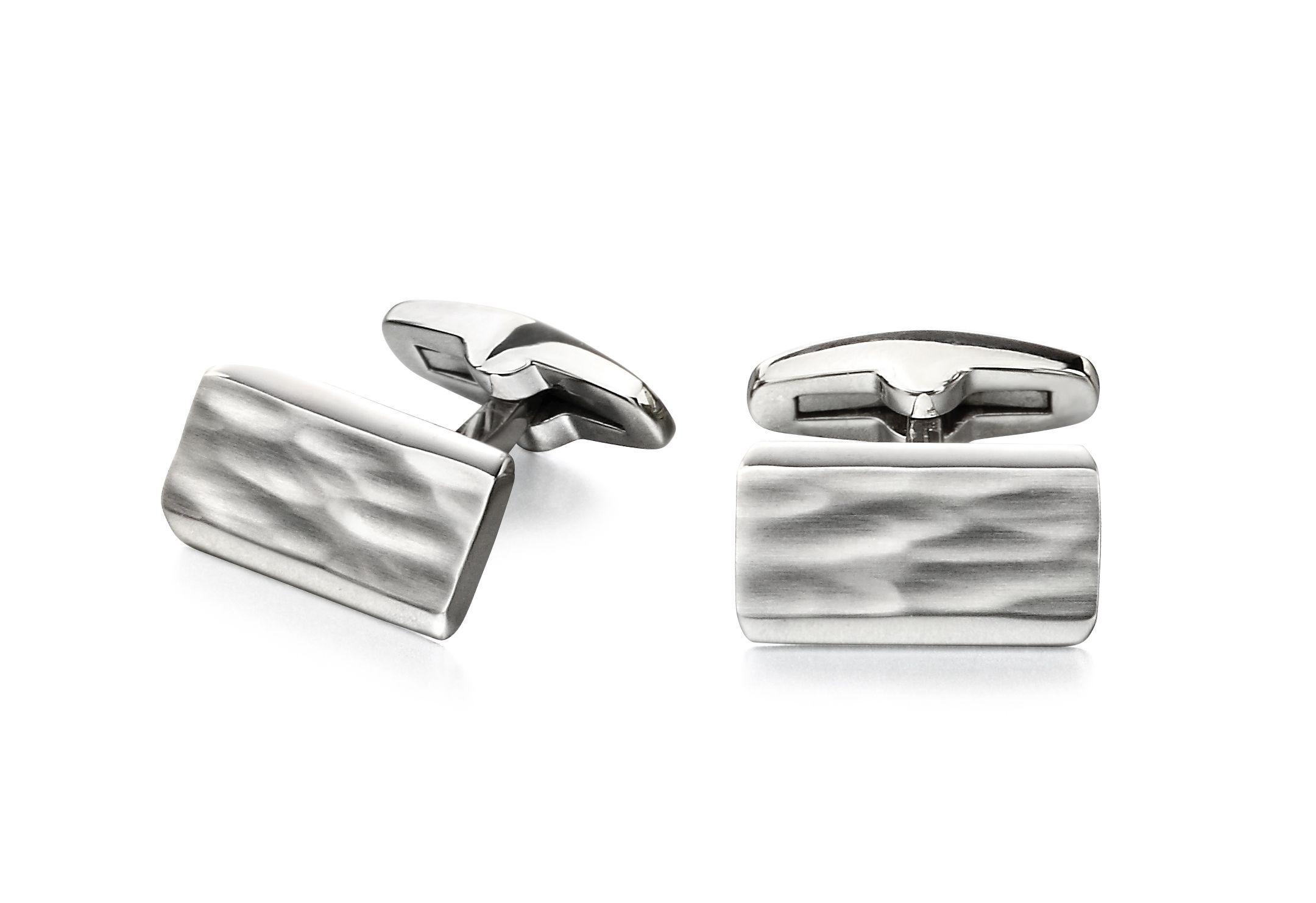Fred Bennett Men Silver Cufflinks V532