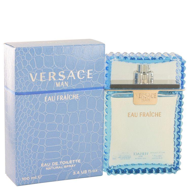 Versace Man Eau Fraiche Eau De Toilette Spray (Blue) By Versace 100 ml