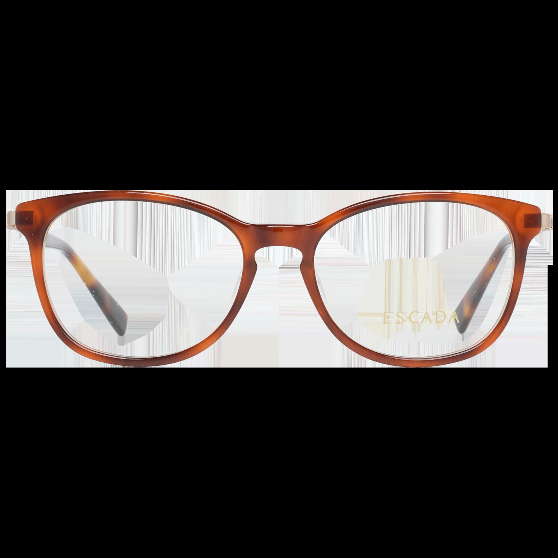 Escada Optical Frame VES456 09TA 52 Women Brown