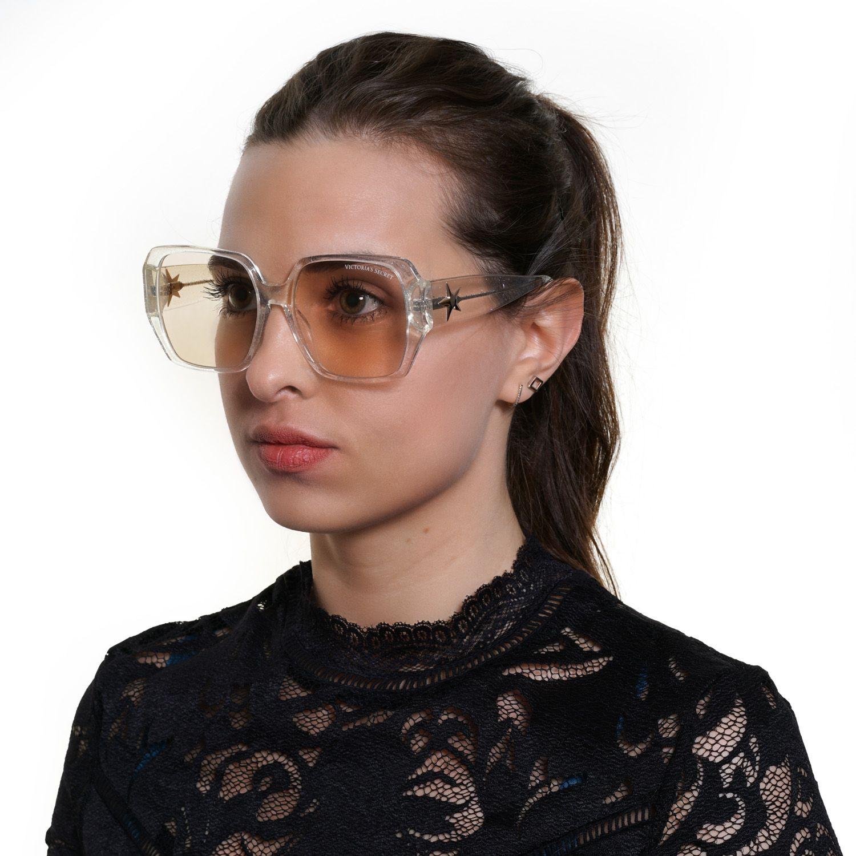 Victoria's Secret Sunglasses VS0016 25Z 58 Women Transparent