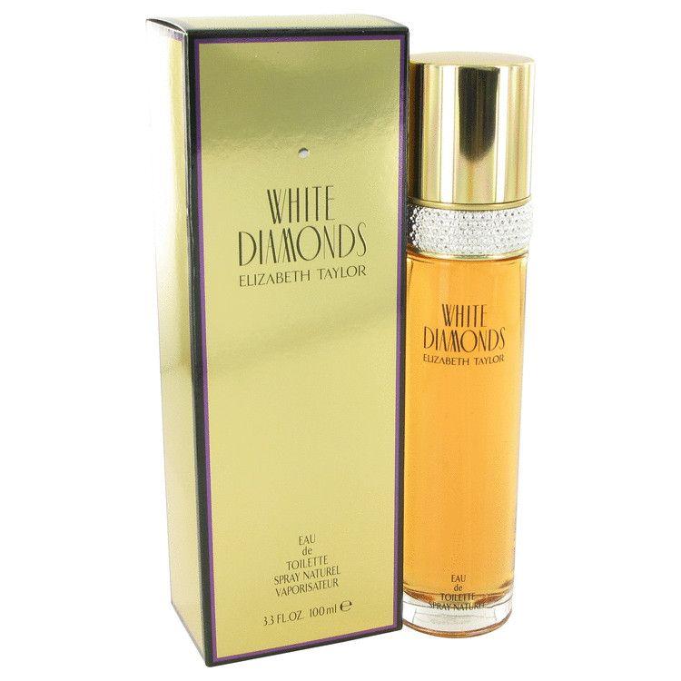 White Diamonds Eau De Toilette Spray By Elizabeth Taylor 100 ml