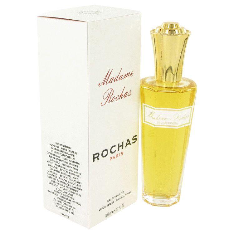 Madame Rochas Eau De Toilette Spray By Rochas 100 ml