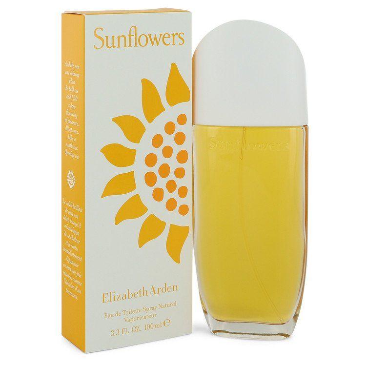 Sunflowers Eau De Toilette Spray By Elizabeth Arden 100 ml