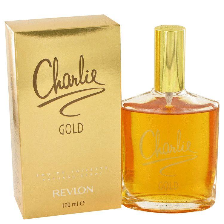 Charlie Gold Eau De Toilette Spray By Revlon 100 ml