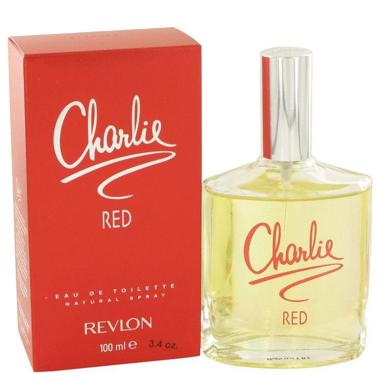 Charlie Red Eau De Toilette Spray By Revlon 100 ml