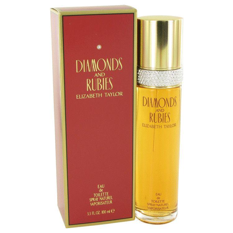 Diamonds & Rubies Eau De Toilette Spray By Elizabeth Taylor 100 ml