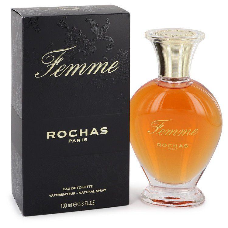 Femme Rochas Eau De Toilette Spray By Rochas 100 ml