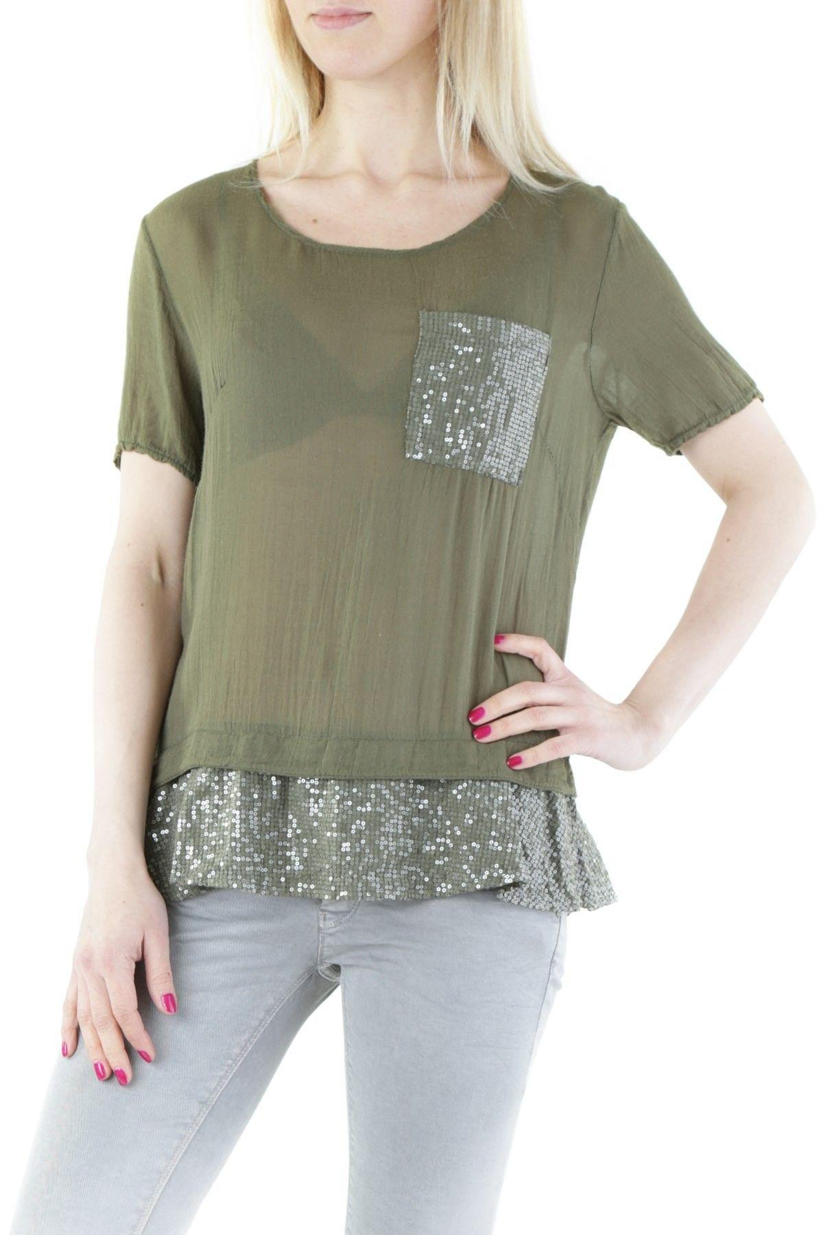 525 Women's T-Shirt In Green