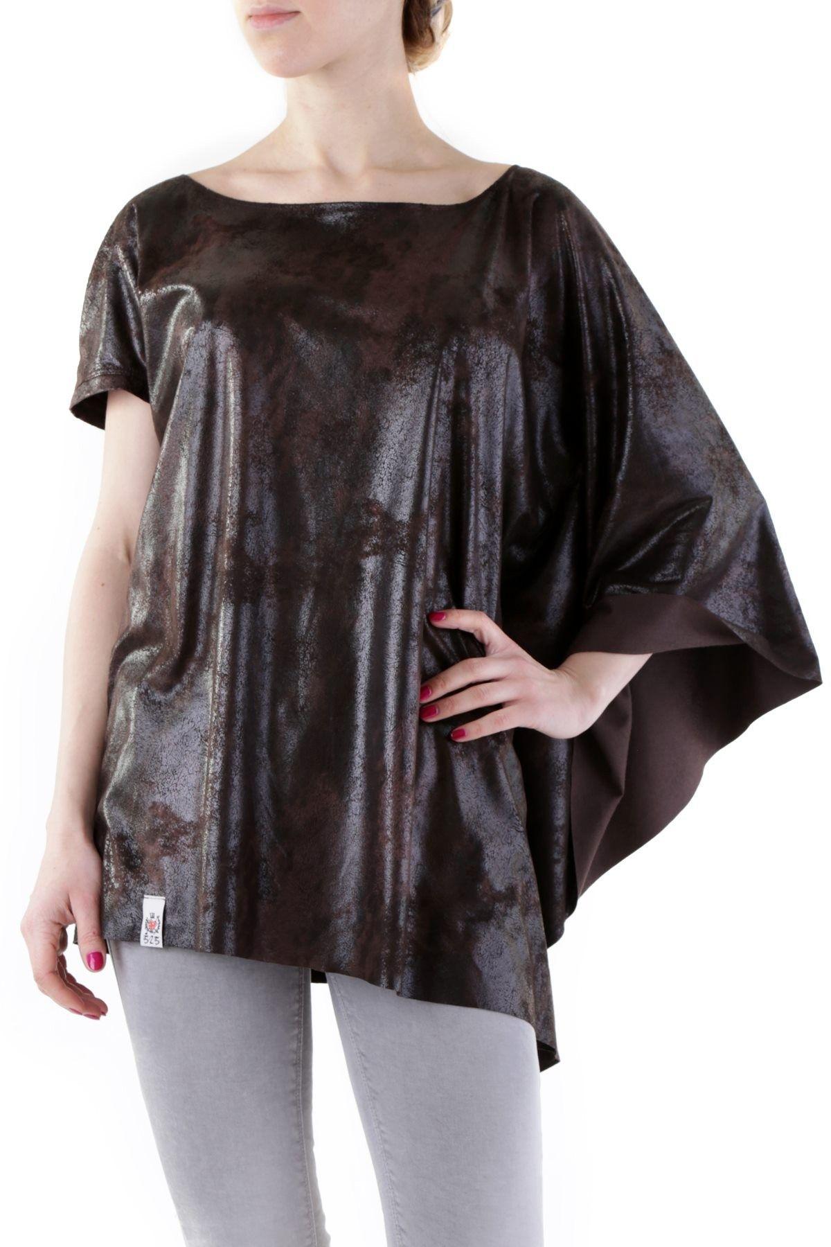 525 Women's Blouse In Brown