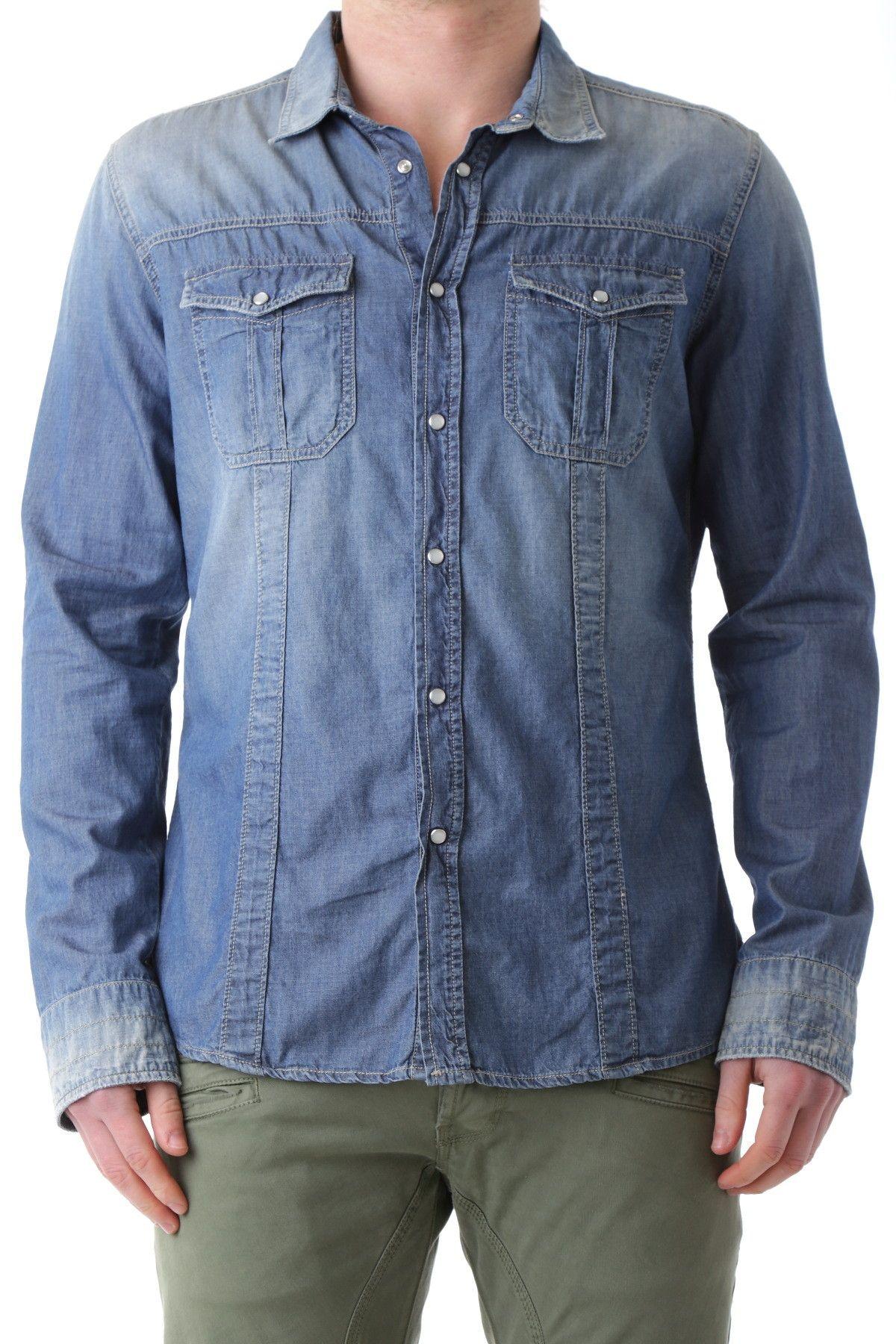 Bray Steve Alan Men's Shirt In Blue