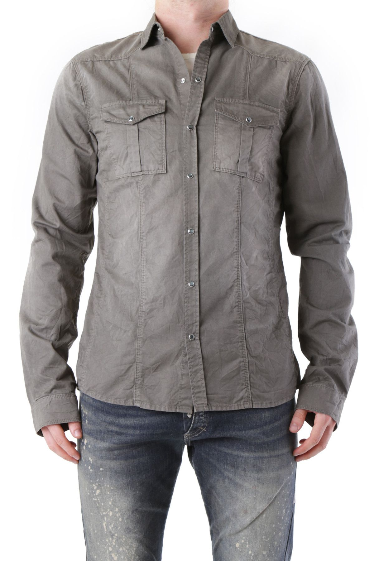 525 Men's Shirt In Brown