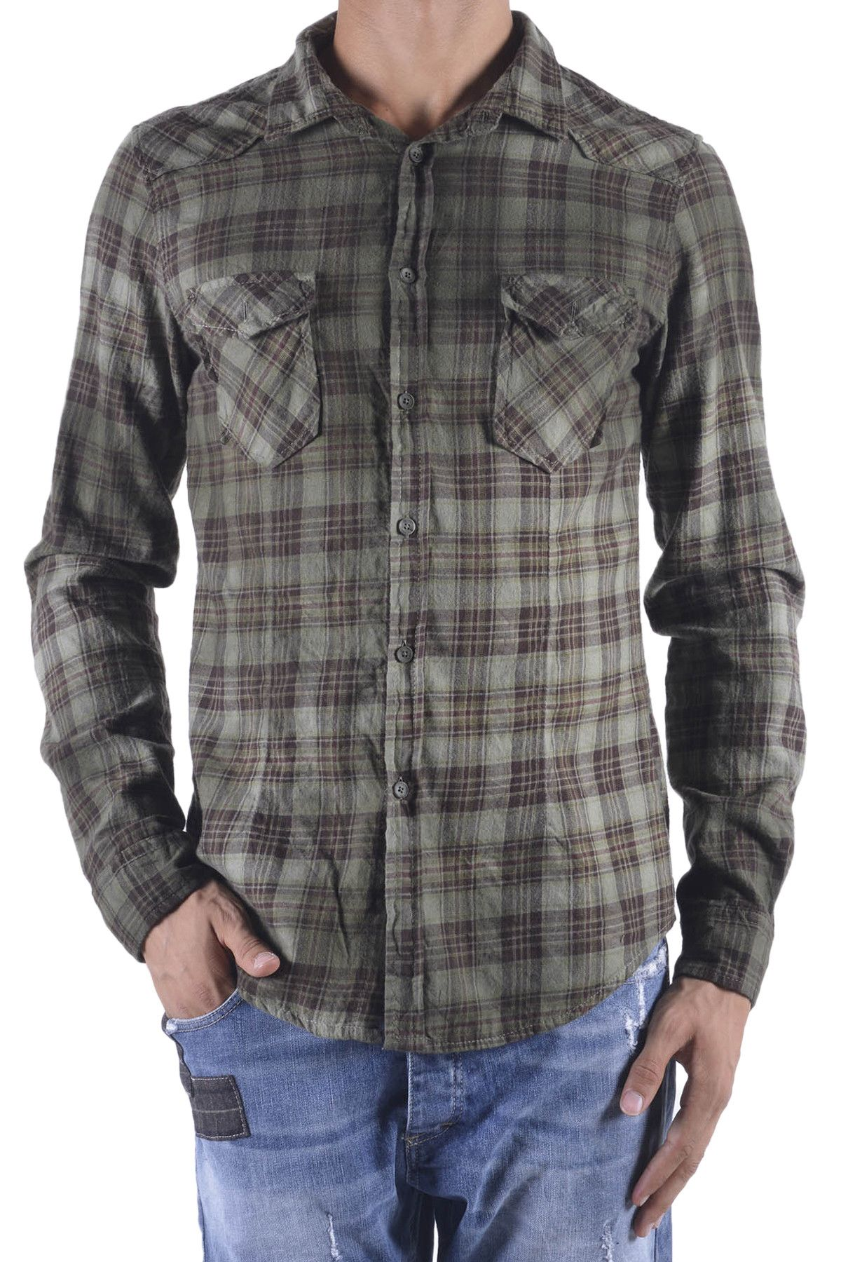 525 Men's Shirt In Green