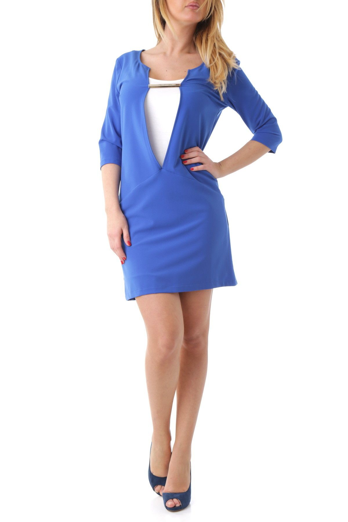 Olivia Hops Women's Dress In Blue