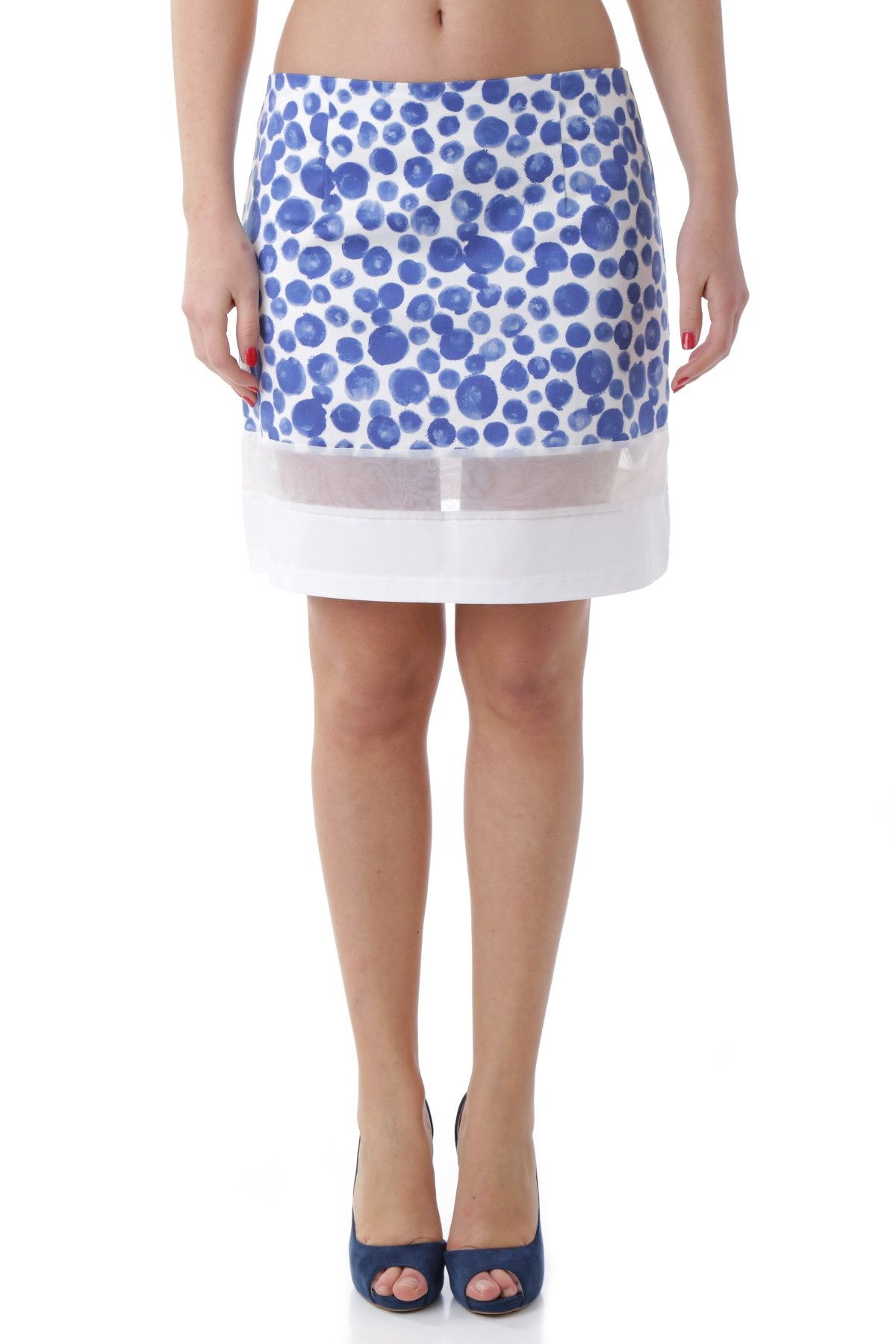 Olivia Hops Women's Skirt In Blue