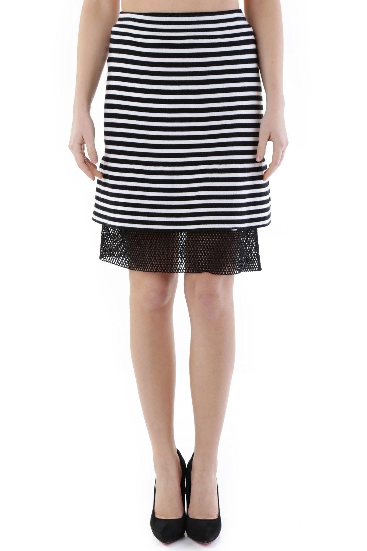 Olivia Hops Women's Skirt In White