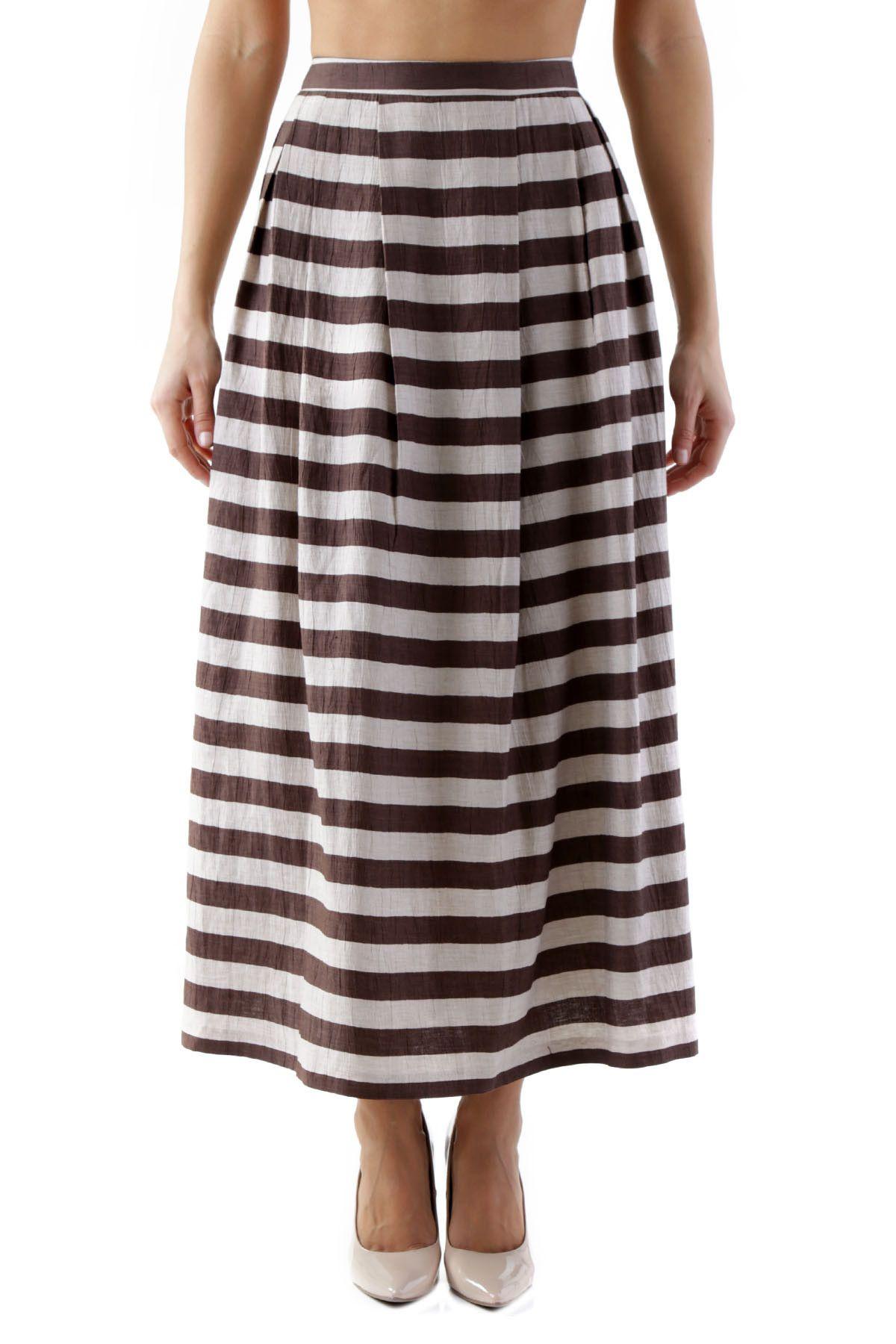 Olivia Hops Women's Skirt In Brown