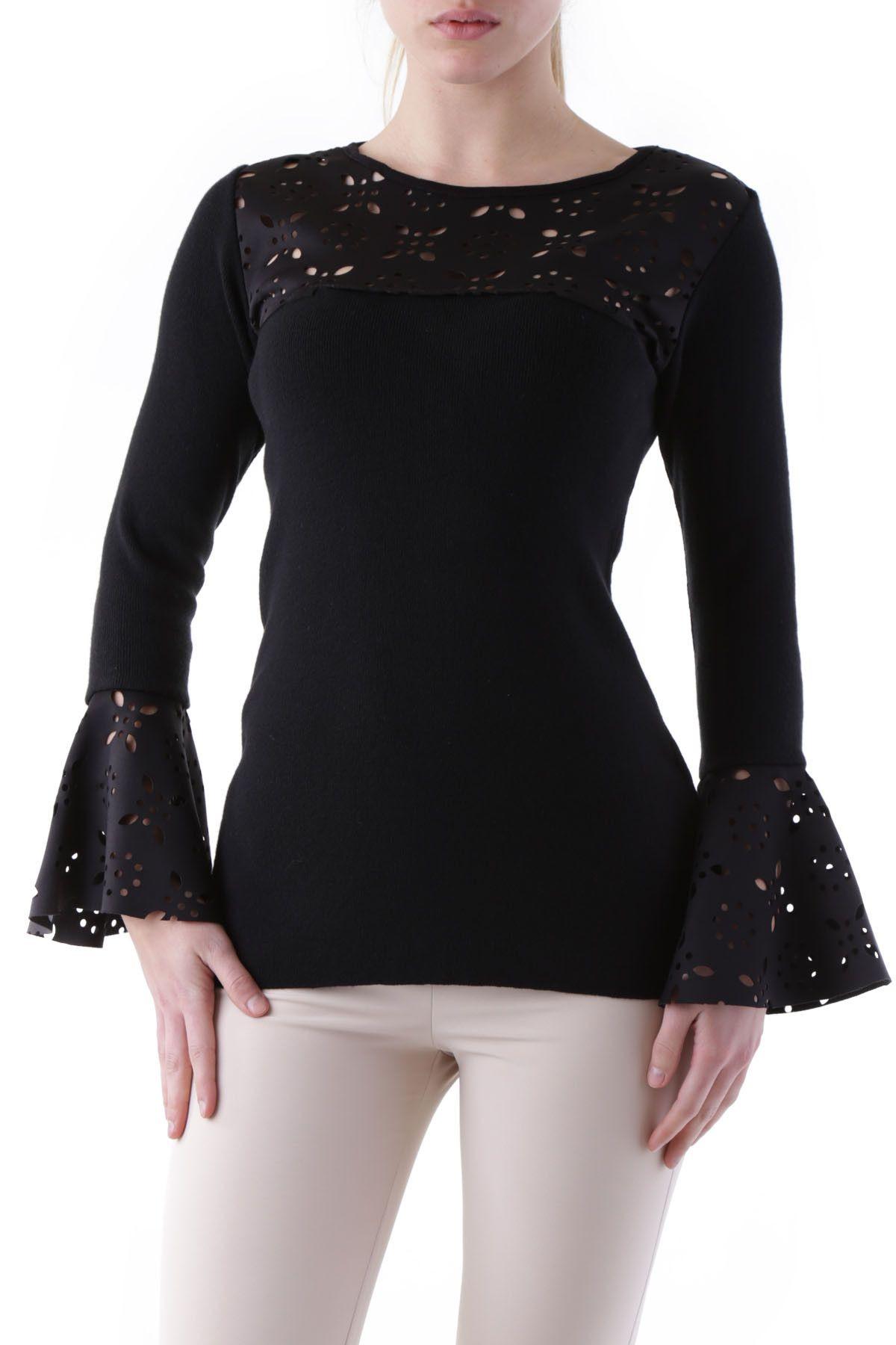 Olivia Hops Women's Knitwear In Black