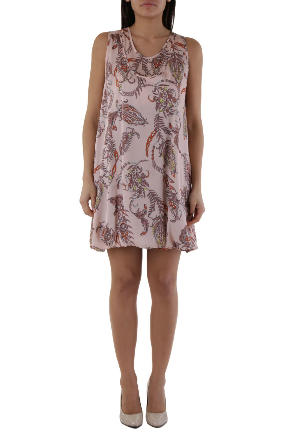 Olivia Hops Women's Dress In Pink