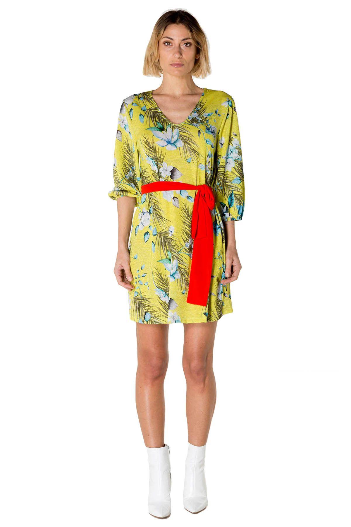 Olivia Hops Women's Dress In Green