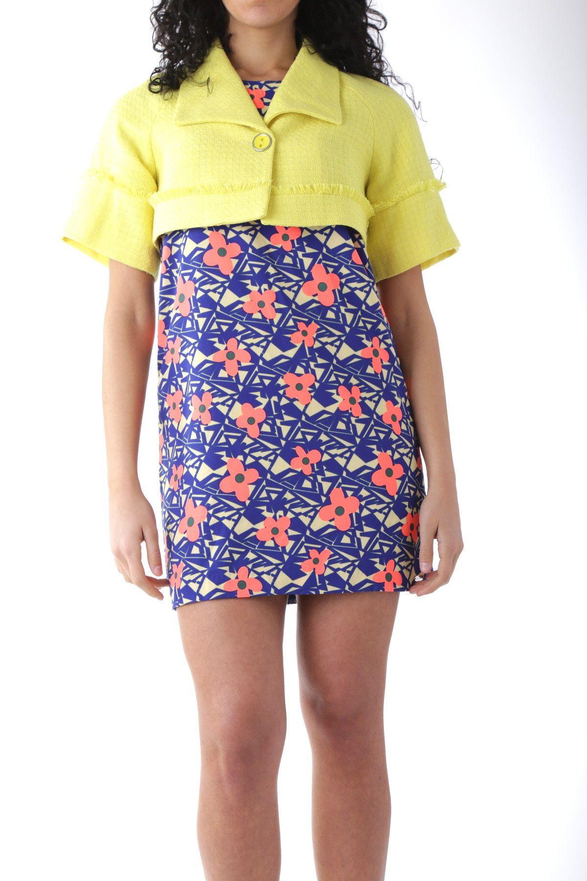 Fornarina Women's Blazer In Yellow