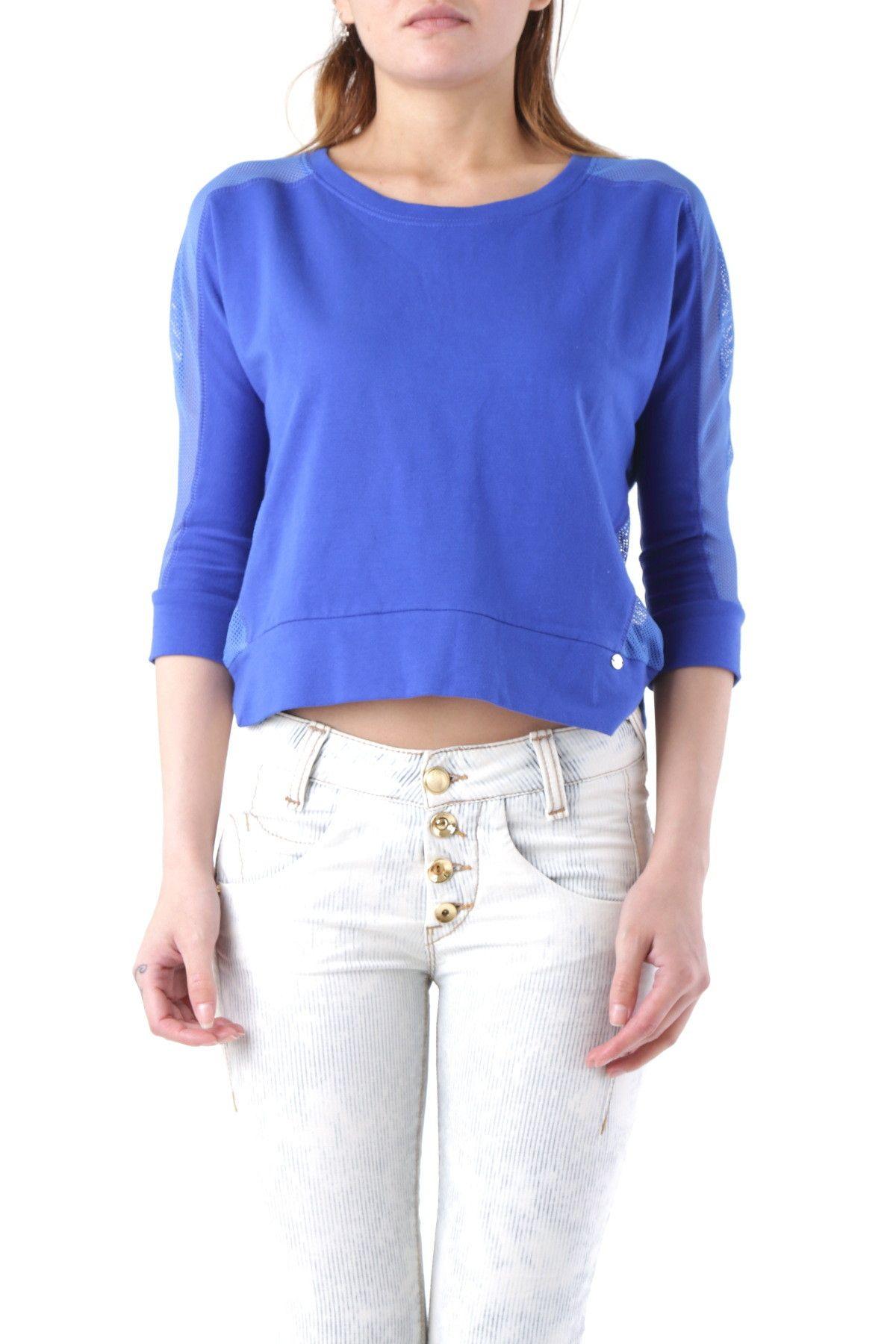 Fornarina Women's Sweatshirt In Blue