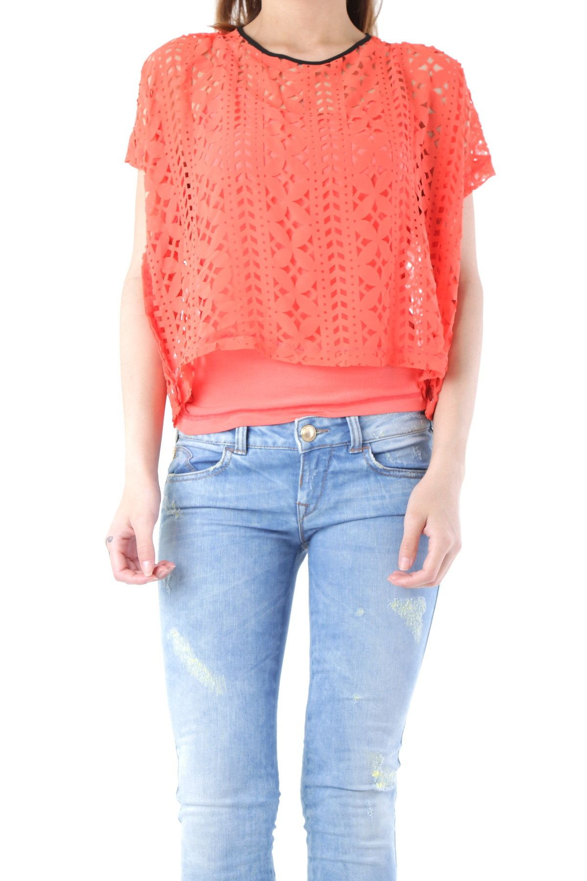 Fornarina Women's Blouse In Orange
