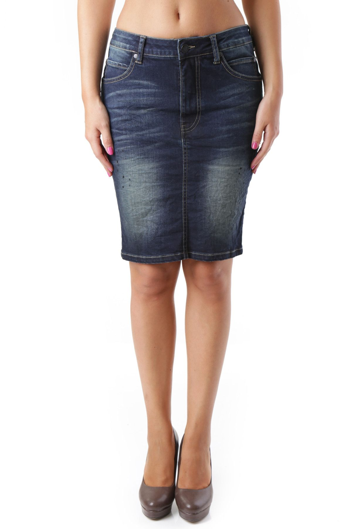 525 Women's Skirt In Blue