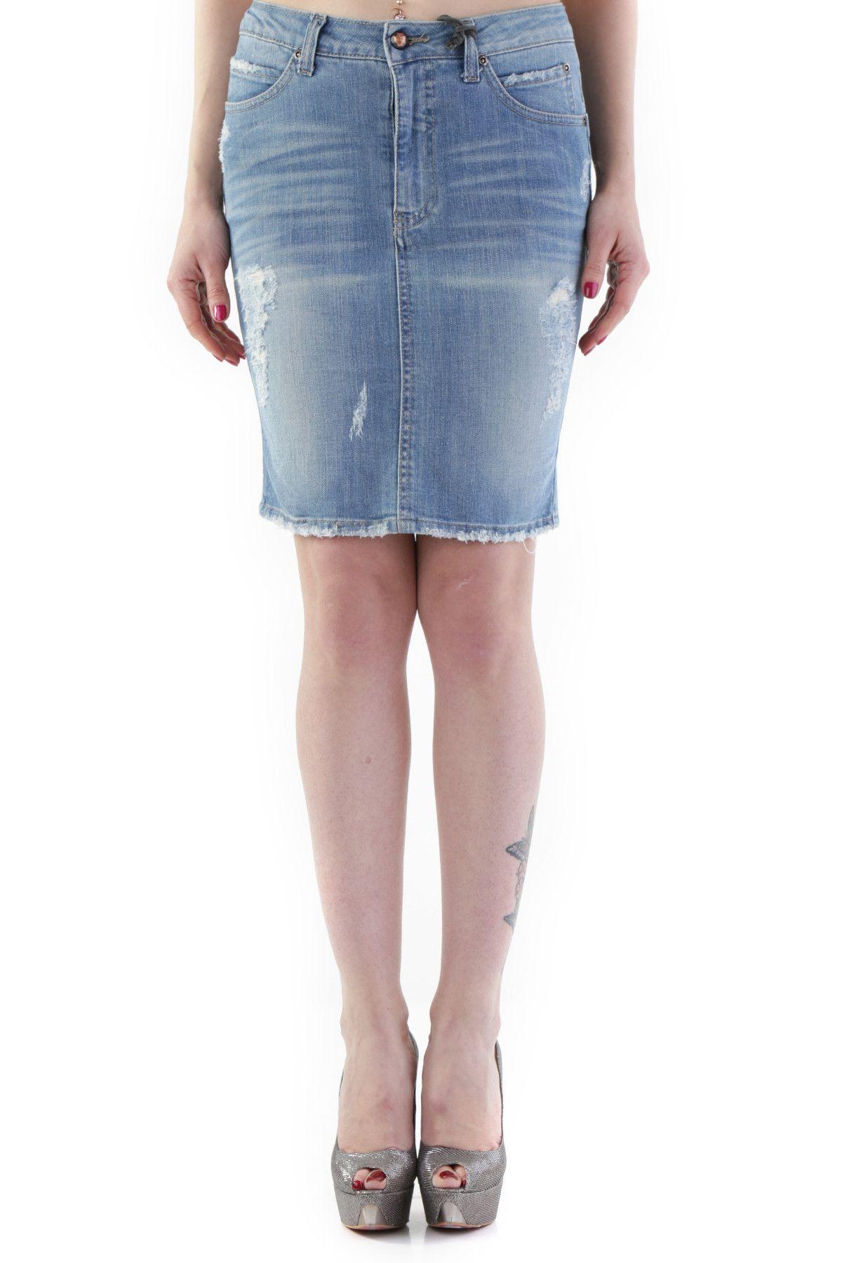 525 Women's Skirt In Blue