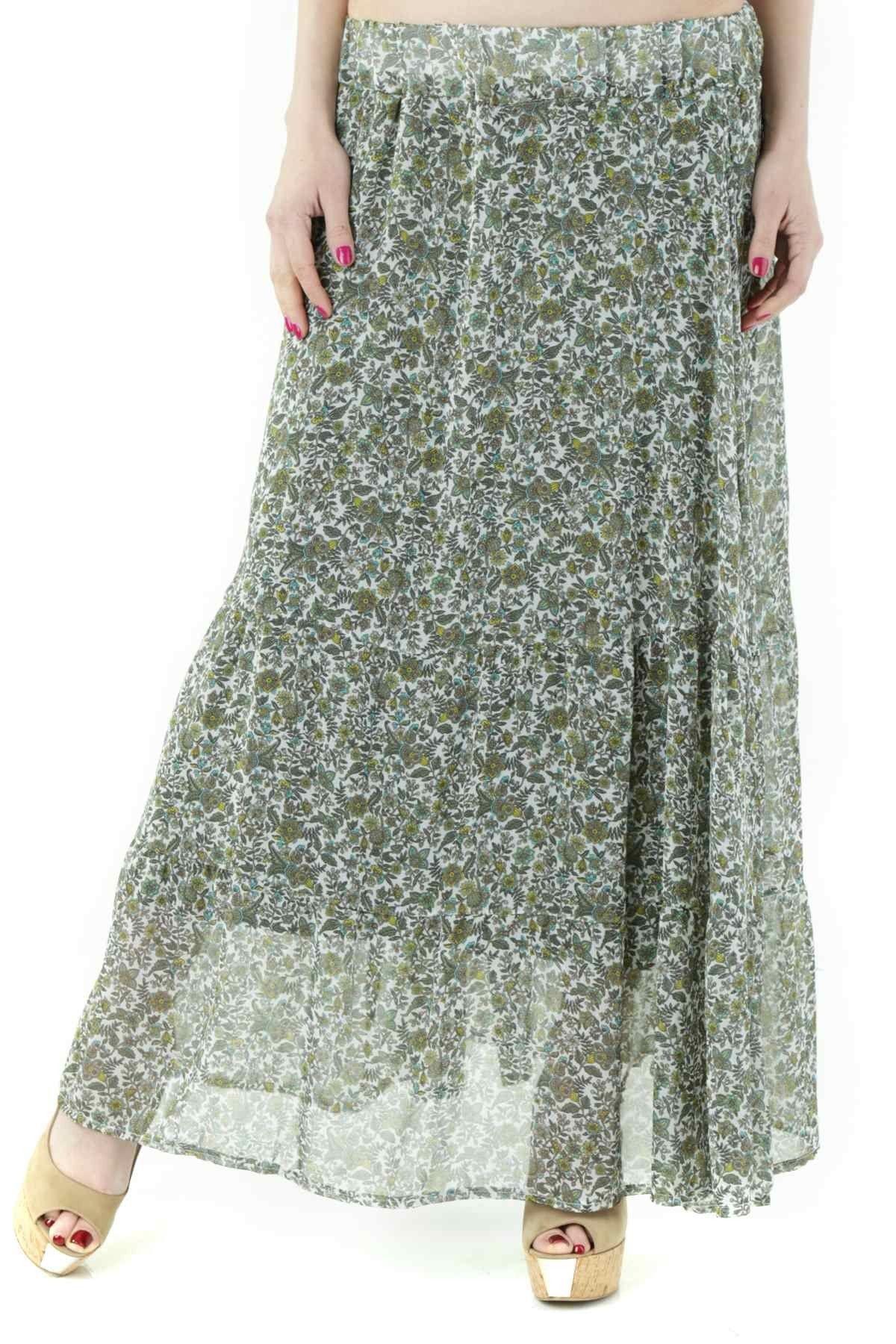 525 Women's Skirt In Green