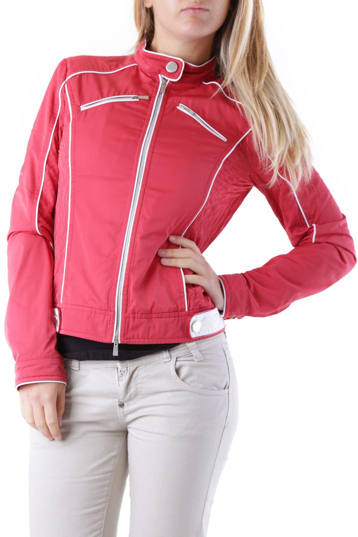 Husky Women's Jacket In Red