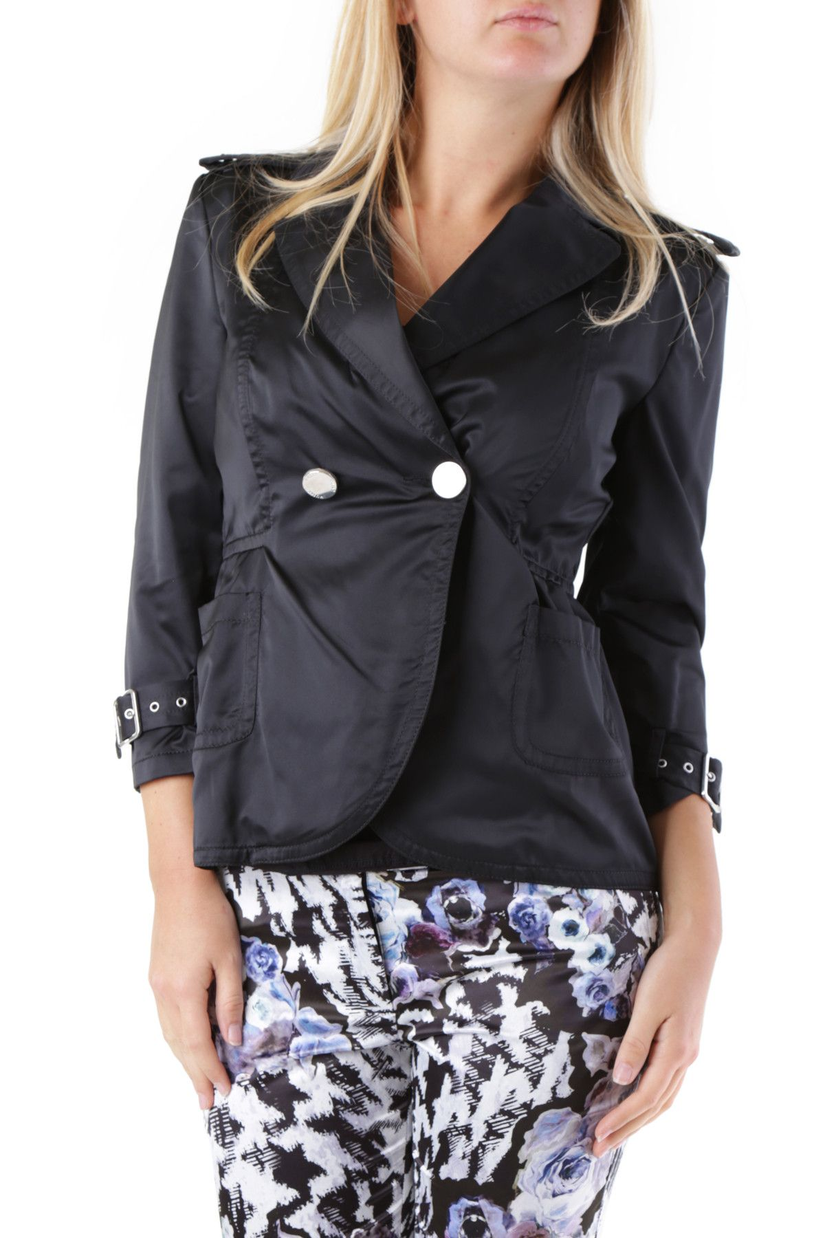 Husky Women's Blazer In Black