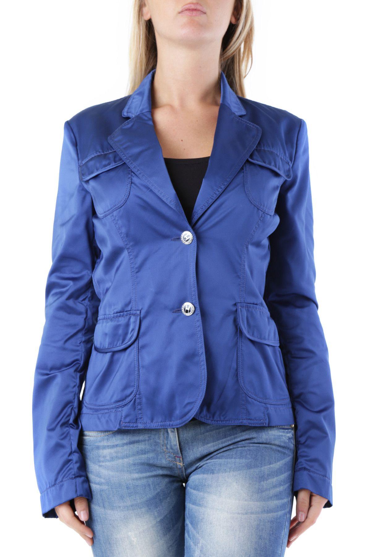Husky Women's Blazer In Blue