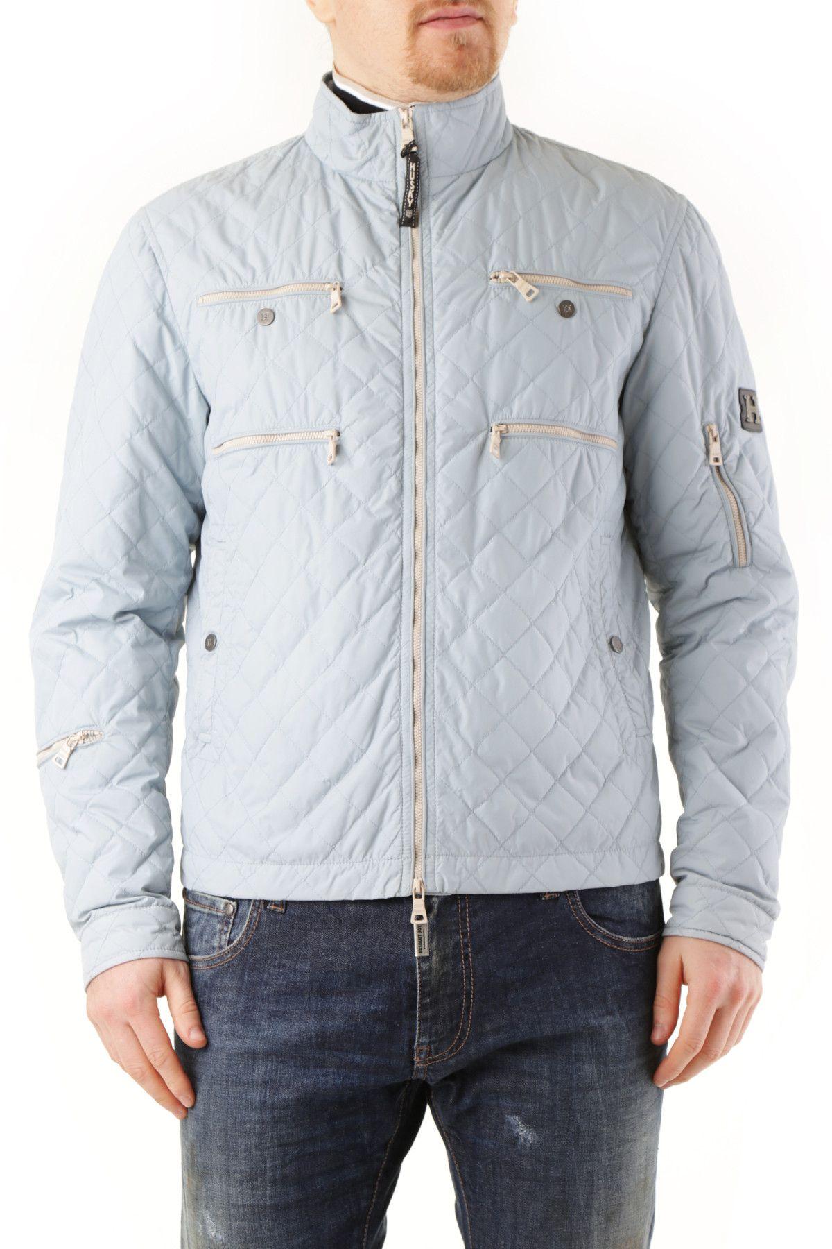 Husky Men's Jacket In Light Blue