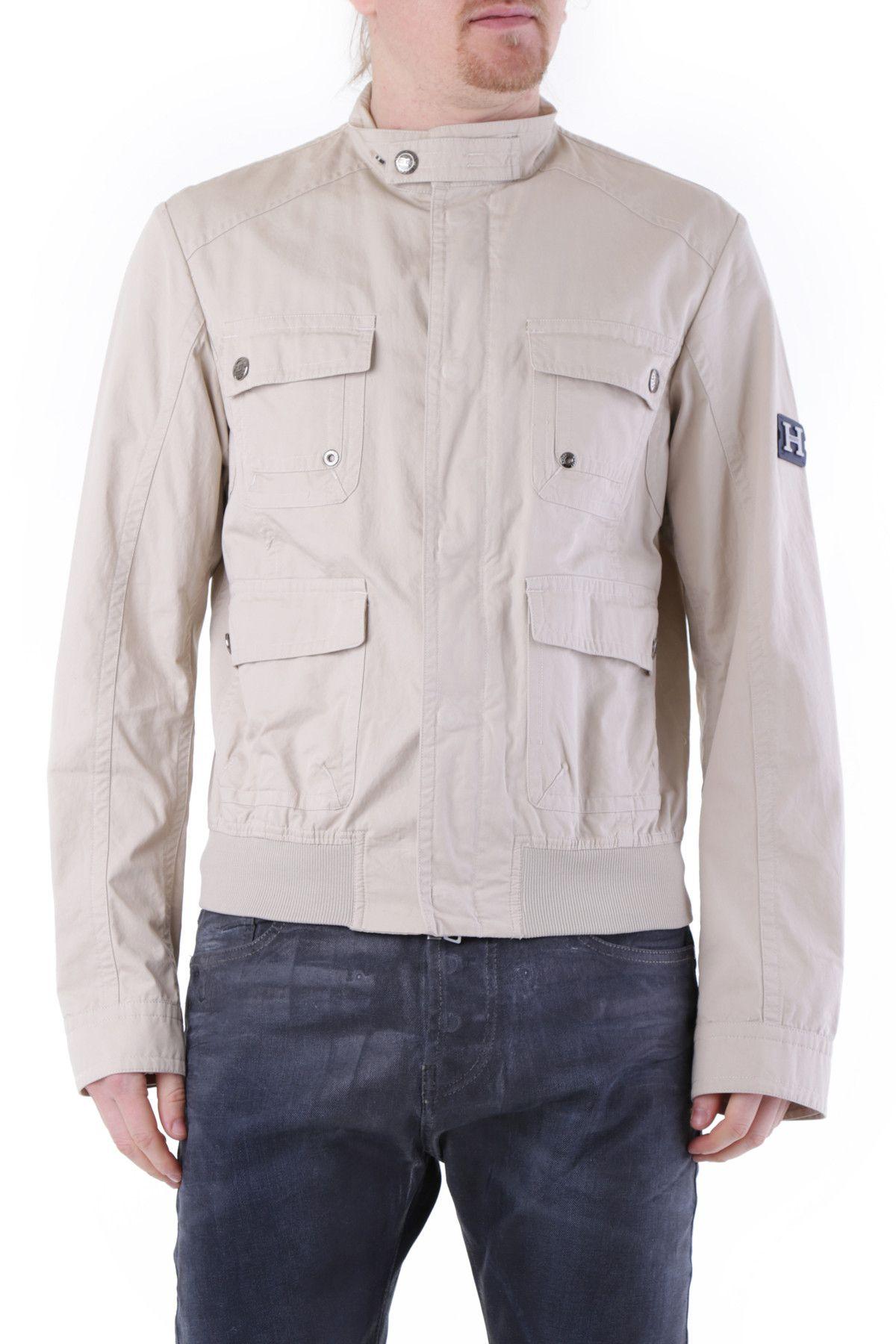 Husky Men's Jacket In Beige