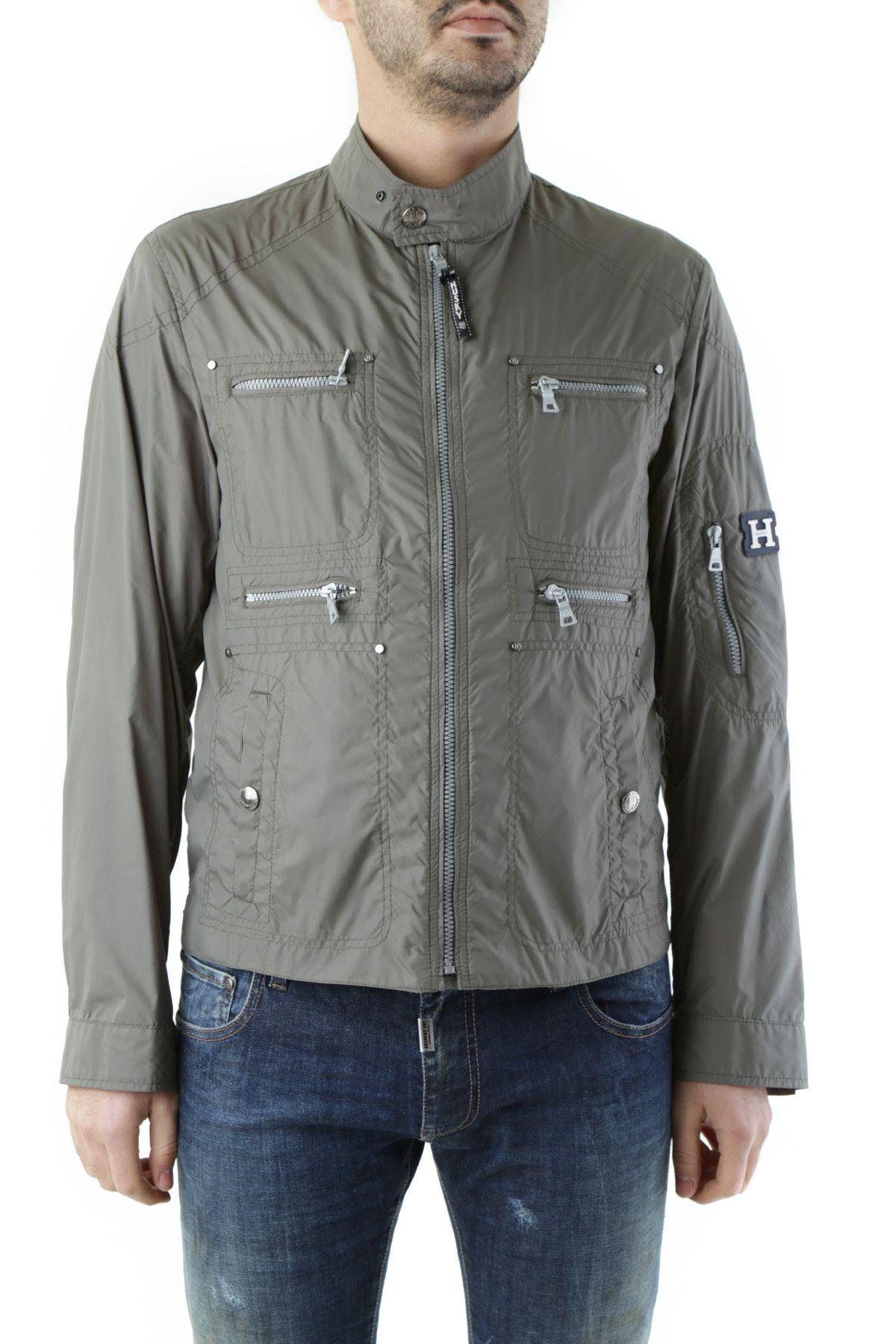 Husky Men's Jacket In Green