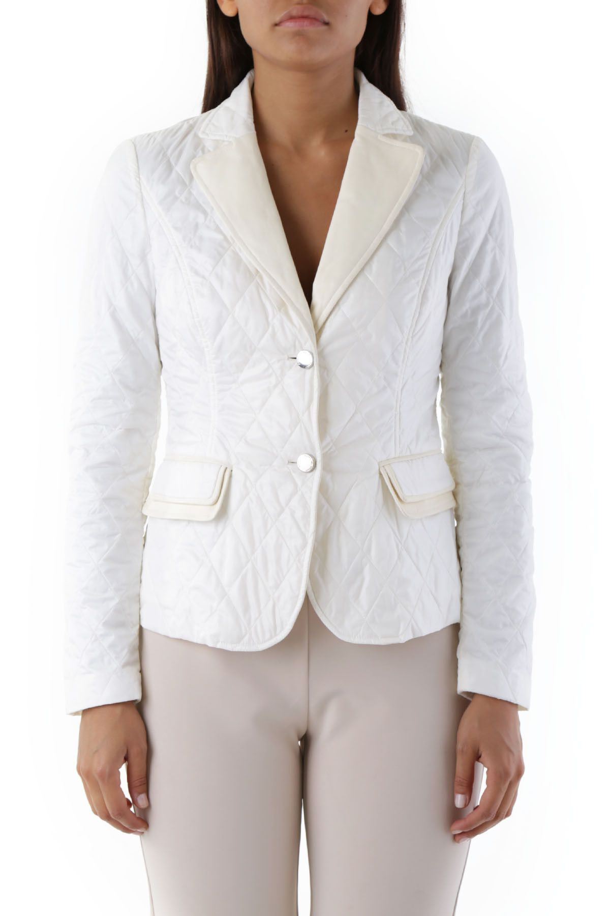 Husky Women's Blazer In White