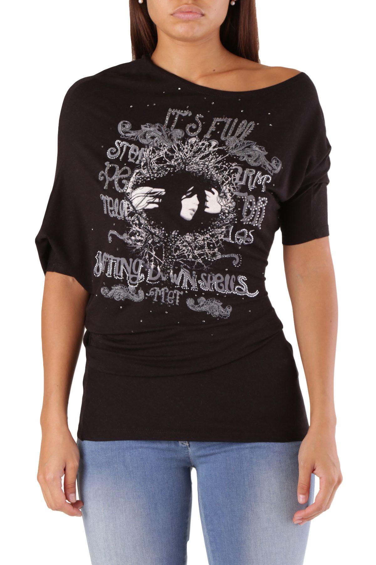 Met Women's T-Shirt In Black