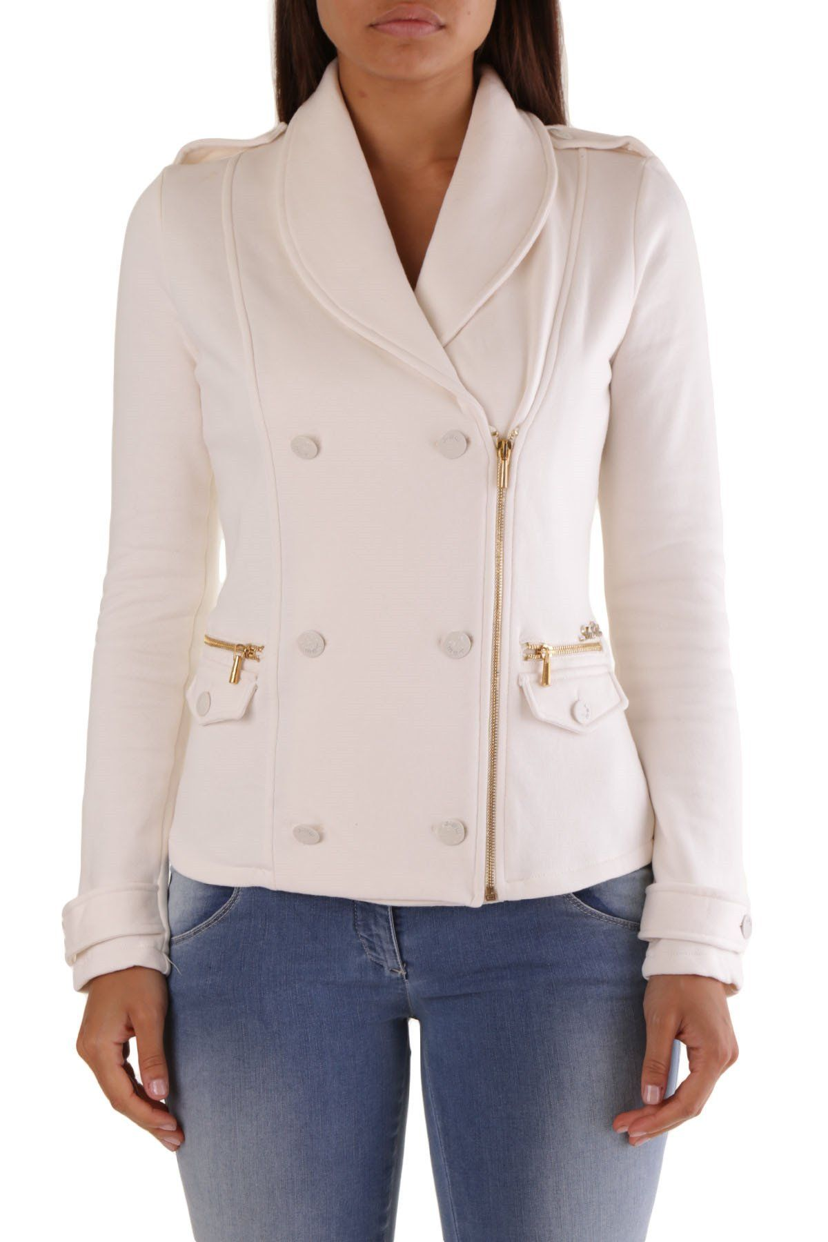 Met Women's Blazer In White